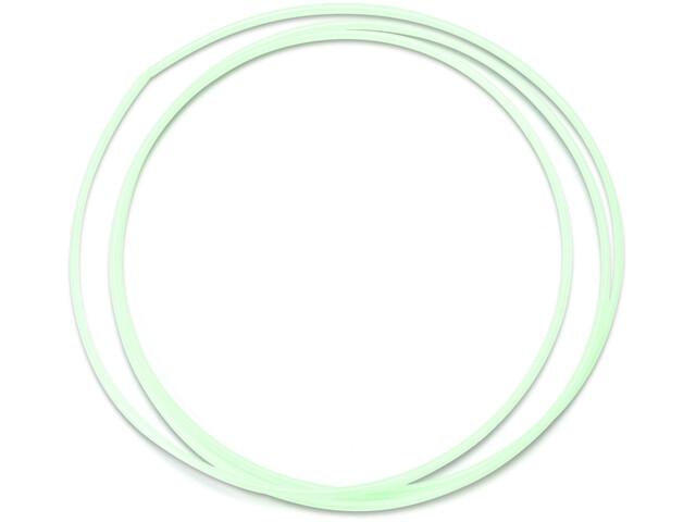 Jagwire Slick Lube Liner Gearkabel til Nokon gennemsigtig